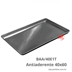 Bandeja 40X60 Plana Lisa Antiaderente  -  BAA/40E1T