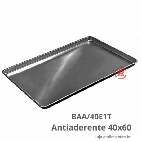 BANDEJA PLANA LISA ANTIADERENTE 40X60 -  BAA/40E1D