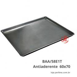 Bandeja 60x70 Plana Lisa Antiaderente BAA/58E1T