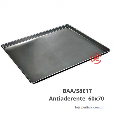 Bandeja Plana Lisa 60x70 Antiaderente BAA/58E1T