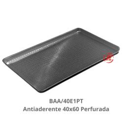 Bandeja 40x60 Perfurada Plana Antiaderente  - BAA/40E1PT